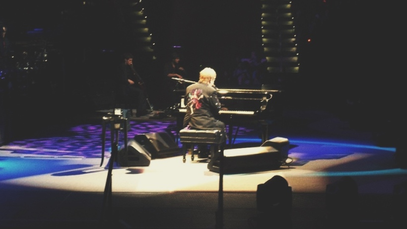 Elton John performing at PNC Arena in Raleigh. | ©2012 Chris White