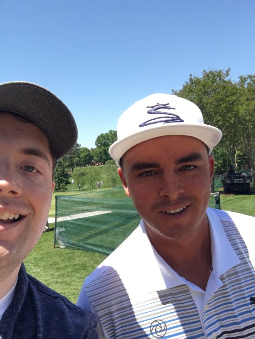 Selfie with Rickie Fowler | Photo: Chris White